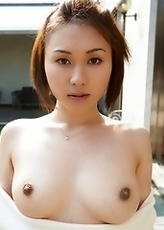 Yuzuka Kinoshita Baring Big Boobs