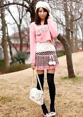 Alice Miyuki Baring Boobs